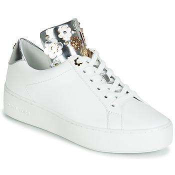kengät Naiset Matalavartiset tennarit MICHAEL Michael Kors MINDY White