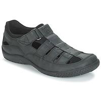 kengät Miehet Sandaalit ja avokkaat Panama Jack MERIDIAN Musta
