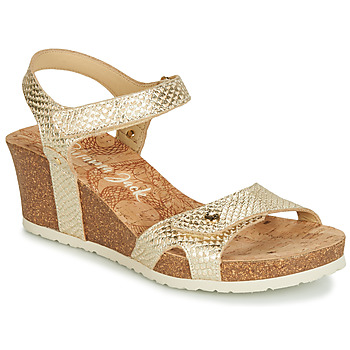 kengät Naiset Sandaalit ja avokkaat Panama Jack JULIA Kulta