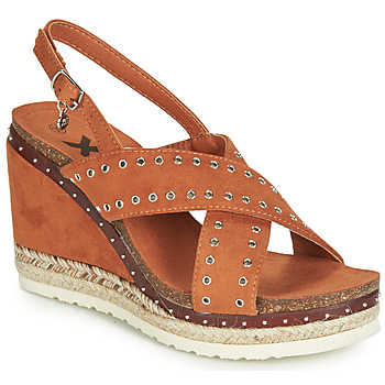kengät Naiset Sandaalit ja avokkaat Xti 48922 Cognac
