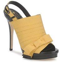 kengät Naiset Sandaalit ja avokkaat Jerome C. Rousseau ROXY Yellow / Black