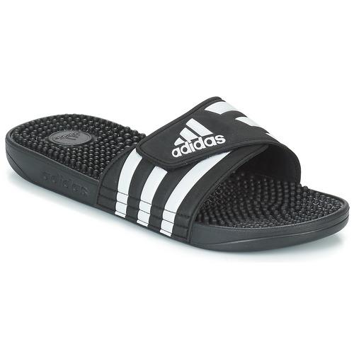 kengät Rantasandaalit adidas Performance ADISSAGE Black / White