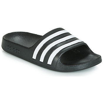 kengät Lapset Rantasandaalit adidas Originals ADILETTE AQUA K Black / White