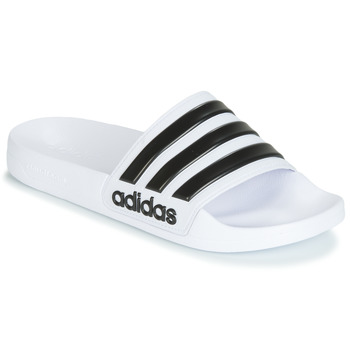 kengät Rantasandaalit adidas Performance ADILETTE SHOWER White / Black