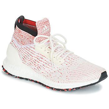kengät Miehet Juoksukengät / Trail-kengät adidas Performance ULTRABOOST ALL TERR White / Red