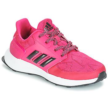 kengät Tytöt Juoksukengät / Trail-kengät adidas Originals RAPIDARUN K Pink