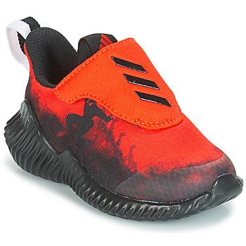 kengät Pojat Juoksukengät / Trail-kengät adidas Performance FORTARUN SPIDER-MAN Red / Black
