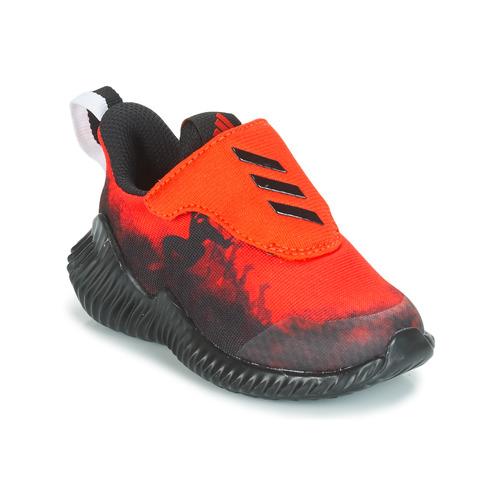 huge discount 03173 103c0 kengät Pojat Juoksukengät   Trail-kengät adidas Performance FORTARUN  SPIDER-MAN Red   Black
