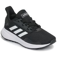kengät Lapset Juoksukengät / Trail-kengät adidas Performance DURAMO 9 K Musta / Valkoinen