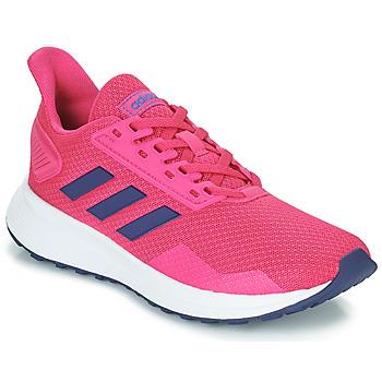 kengät Tytöt Juoksukengät / Trail-kengät adidas Performance DURAMO 9 K Pink