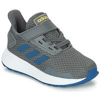 kengät Pojat Juoksukengät / Trail-kengät adidas Performance DURAMO 9 I Grey