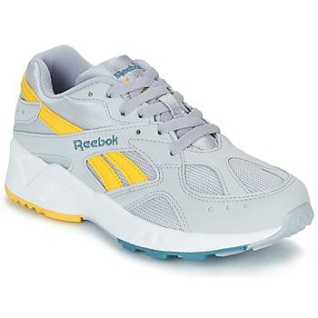 kengät Miehet Matalavartiset tennarit Reebok Classic AZTREK Grey / Yellow