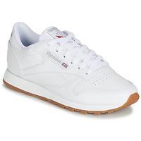 kengät Naiset Matalavartiset tennarit Reebok Classic CL LTHR White