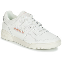 kengät Naiset Matalavartiset tennarit Reebok Classic WORKOUT LO PLUS White