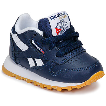 kengät Pojat Matalavartiset tennarit Reebok Classic CLASSIC LEATHER Blue / White