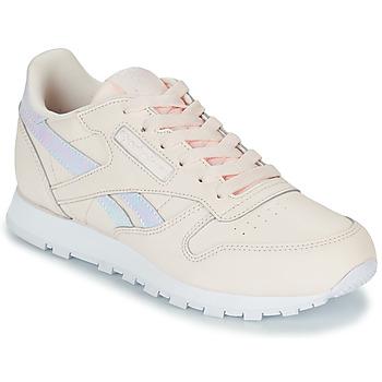 kengät Tytöt Matalavartiset tennarit Reebok Classic CLASSIC LEATHER Pink