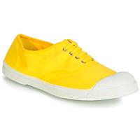 kengät Naiset Matalavartiset tennarit Bensimon TENNIS LACETS Citron