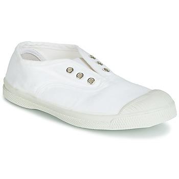 kengät Lapset Matalavartiset tennarit Bensimon TENNIS ELLY White