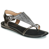 kengät Naiset Sandaalit ja avokkaat JB Martin ARMOR Black / Hopea