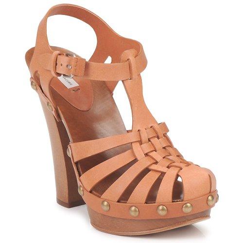 kengät Naiset Sandaalit ja avokkaat Marc Jacobs MJ18051 Beige