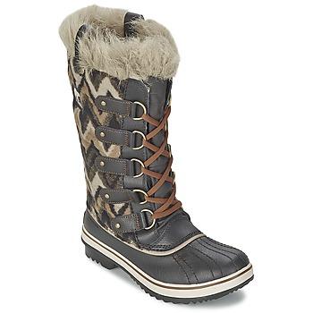 kengät Naiset Talvisaappaat Sorel TOFINO Grey