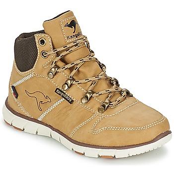 kengät Pojat Bootsit Kangaroos BLUERUN 2098 Beige