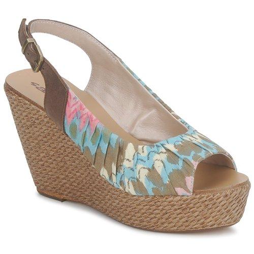 kengät Naiset Sandaalit ja avokkaat Sans Interdit RICO Multicolour