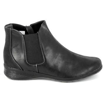 kengät Naiset Saappaat Boissy Boots 7514 Noir Musta