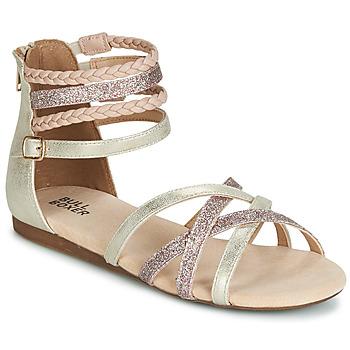 kengät Tytöt Sandaalit ja avokkaat Bullboxer AED009 Kulta / Pink