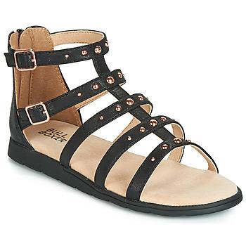 kengät Tytöt Sandaalit ja avokkaat Bullboxer AGG021 Black
