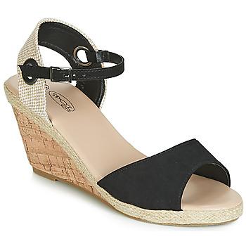 kengät Naiset Sandaalit ja avokkaat Spot on F2265 Black