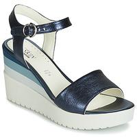 kengät Naiset Sandaalit ja avokkaat Stonefly ELY 7 LAMINATED LTH Blue
