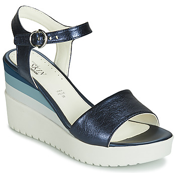 kengät Naiset Sandaalit ja avokkaat Stonefly ELY 7 LAMINATED LTH Sininen
