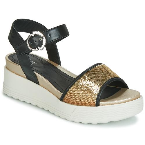 kengät Naiset Sandaalit ja avokkaat Stonefly PARKY 3 NAPPA/PAILETTES Black