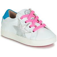 kengät Tytöt Matalavartiset tennarit Acebo's STARWAY White
