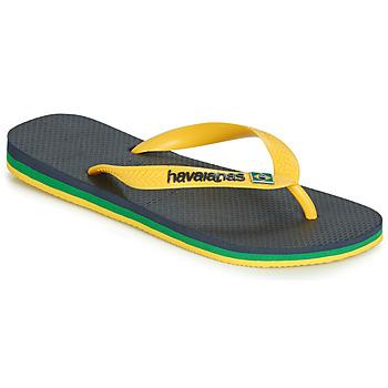 kengät Varvassandaalit Havaianas BRASIL LAYERS Laivastonsininen