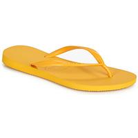 kengät Naiset Varvassandaalit Havaianas SLIM Yellow