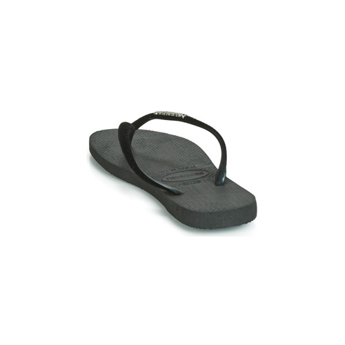 Havaianas Slim Velvet Black - Ilmainen Toimitus- Kengät Varvassandaalit Naiset 26