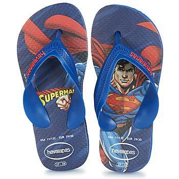 kengät Pojat Varvassandaalit Havaianas KIDS MAX HEROIS Blue