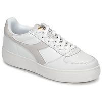 kengät Naiset Matalavartiset tennarit Diadora B ELITE WIDE White / Taupe