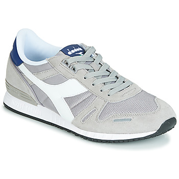 sports shoes d8366 a1fab kengät Miehet Matalavartiset tennarit Diadora TITAN II Grey   Blue