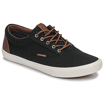 kengät Miehet Matalavartiset tennarit Jack & Jones VISION CLASSIC MIXED Black