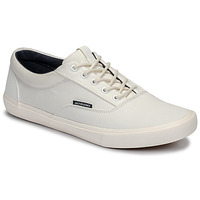 kengät Miehet Matalavartiset tennarit Jack & Jones VISION CLASSIC MIXED White