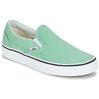 kengät Naiset Tennarit Vans CLASSIC SLIP-ON Green