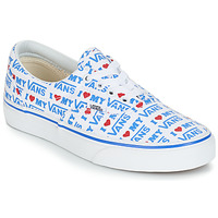 kengät Naiset Matalavartiset tennarit Vans ERA White / Blue