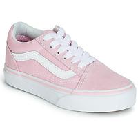 kengät Tytöt Matalavartiset tennarit Vans OLD SKOOL Pink
