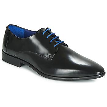 kengät Miehet Derby-kengät Azzaro VALMI Black