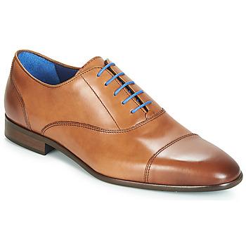 kengät Miehet Herrainkengät Azzaro RAELAN Cognac