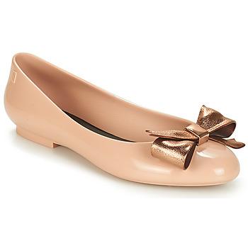 kengät Naiset Balleriinat Melissa DOLL III Beige / Bronze