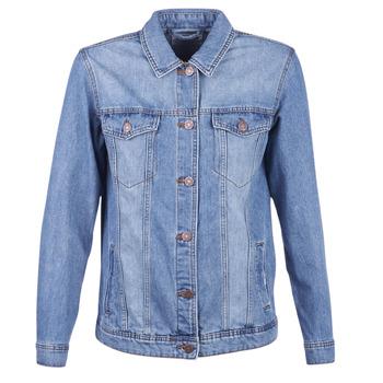 vaatteet Naiset Farkkutakki Noisy May NMOLE Blue
